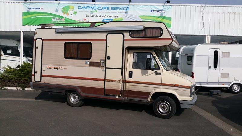 challenger 340 occasion de 1987 peugeot camping car en vente loison sous lens pas de. Black Bedroom Furniture Sets. Home Design Ideas