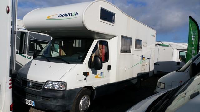 chausson welcome 17 occasion de 2004 fiat camping car en vente loison sous lens pas de. Black Bedroom Furniture Sets. Home Design Ideas
