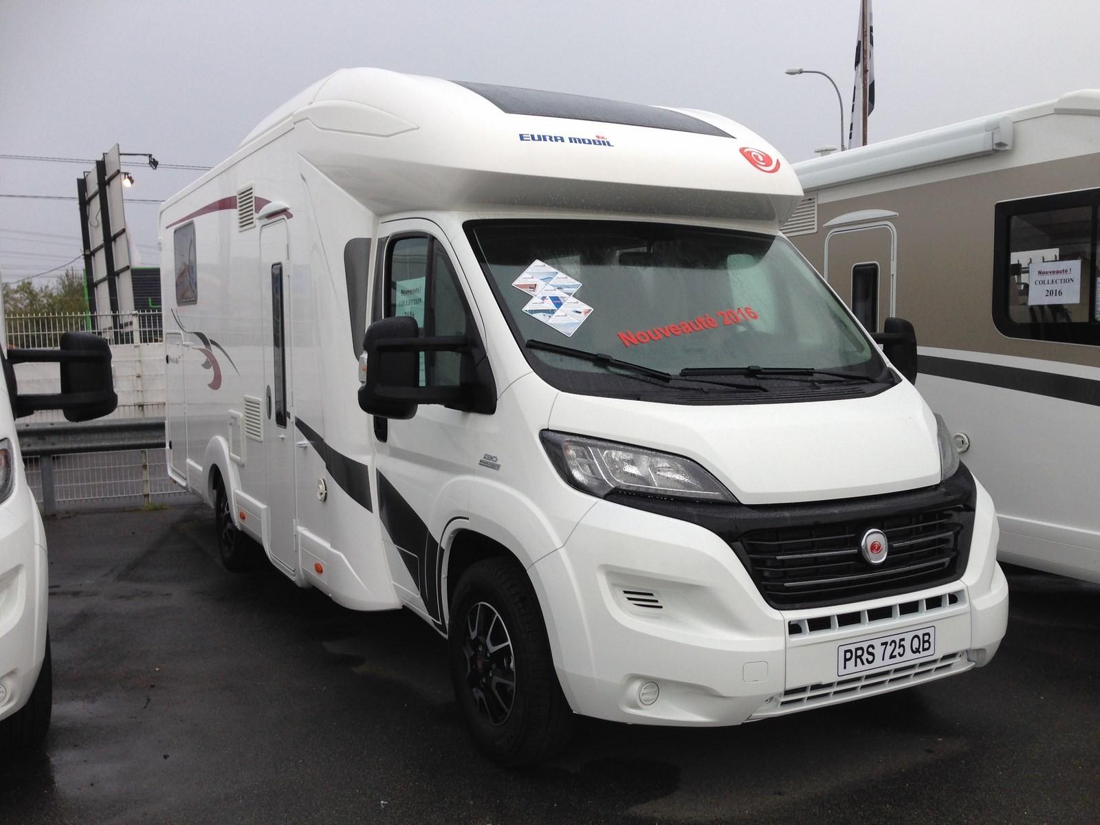 eura mobil profila rs 725 qb excellence neuf porteur fiat 2 3 jtd 130 cv camping car vendre. Black Bedroom Furniture Sets. Home Design Ideas