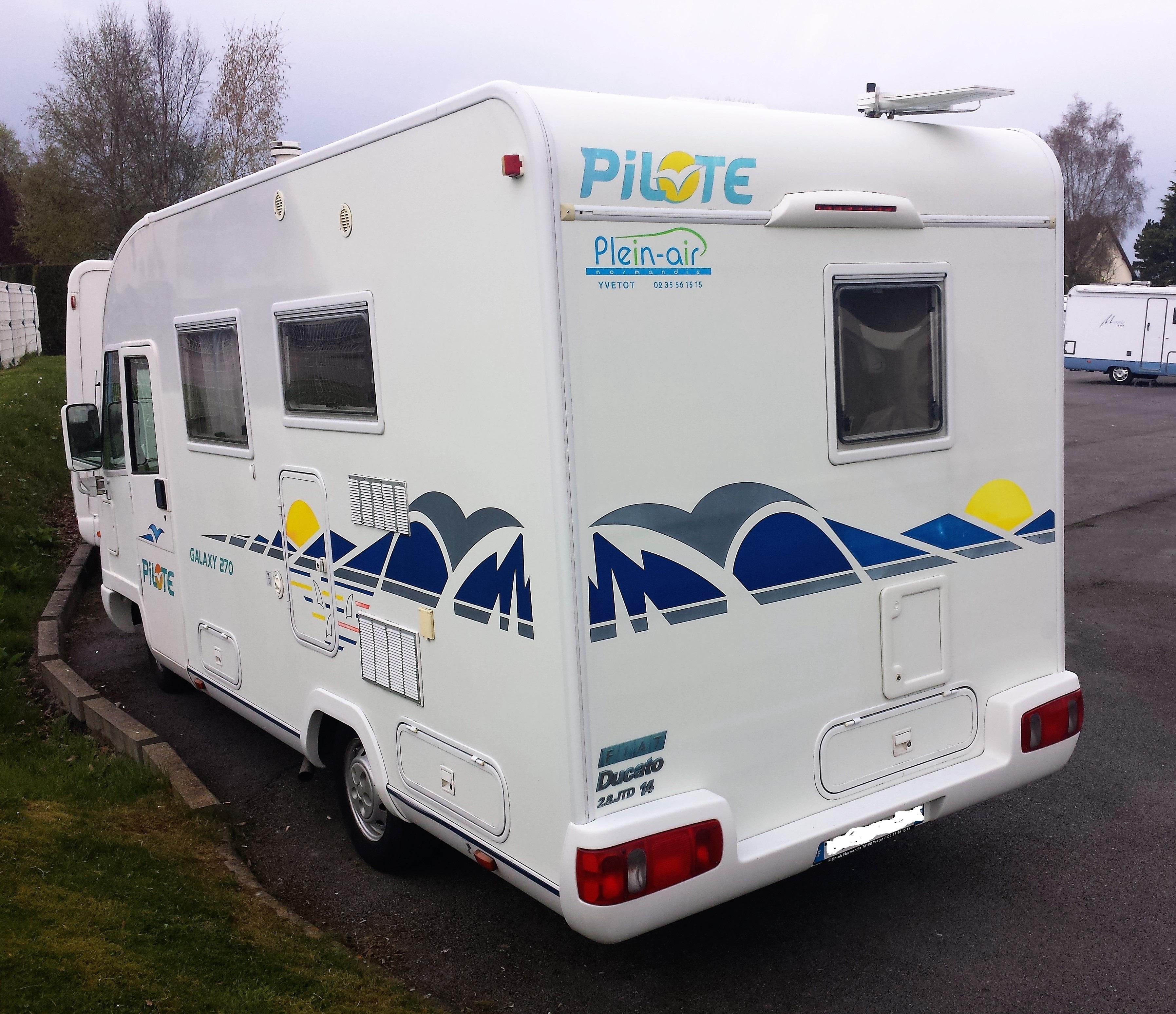 Camping Car Pilote Seine Maritime
