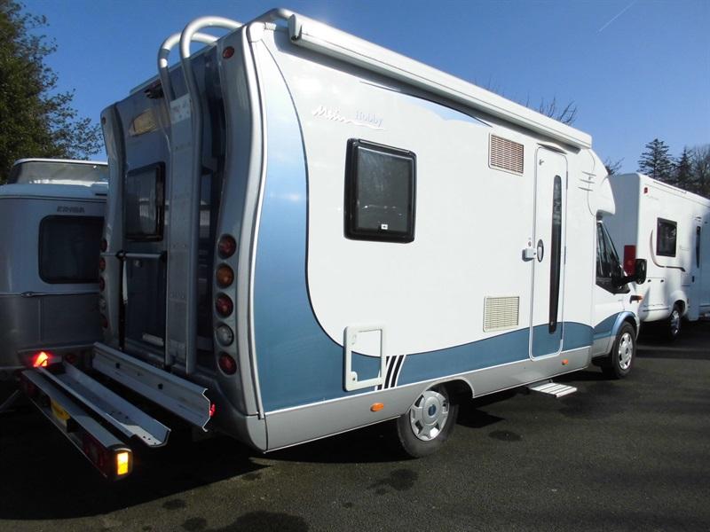 hobby siesta 600 occasion de 2008 ford camping car en vente francastel oise 60. Black Bedroom Furniture Sets. Home Design Ideas