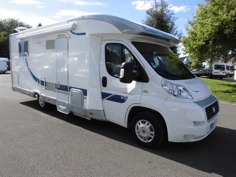 mc louis tandy 672 occasion de 2009 fiat camping car en vente francastel oise 60. Black Bedroom Furniture Sets. Home Design Ideas