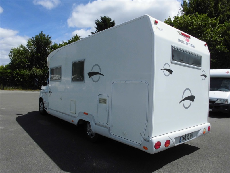 roller team granduca garage occasion porteur renault 3l 140ch camping car vendre en oise 60. Black Bedroom Furniture Sets. Home Design Ideas