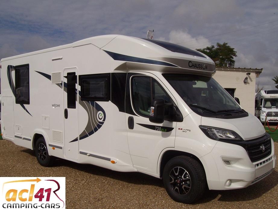 chausson 738 xlb neuf de 2018 fiat camping car en vente suevres loir et cher 41. Black Bedroom Furniture Sets. Home Design Ideas
