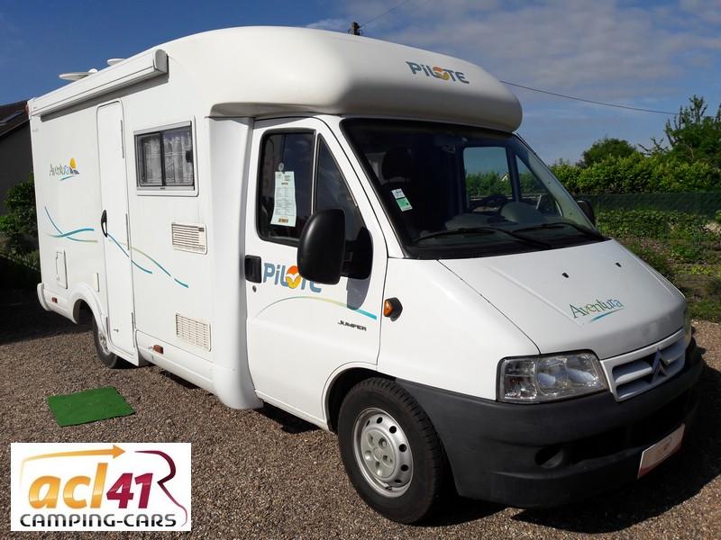 auto caravanes loisirs pilote aventura p 620 annonces occasion. Black Bedroom Furniture Sets. Home Design Ideas