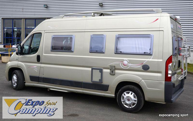 challenger vany 02 prestige occasion porteur fiat ducato 120 ch camping car vendre en val d. Black Bedroom Furniture Sets. Home Design Ideas