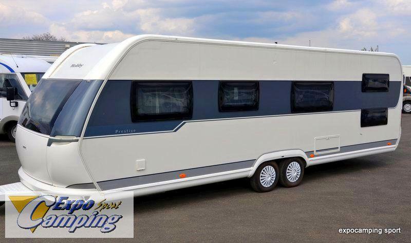 hobby prestige 720 kfu occasion caravane vendre en val d oise 95 ref 10477. Black Bedroom Furniture Sets. Home Design Ideas