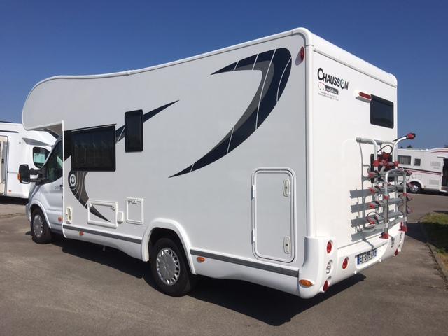 chausson c636 occasion de 2016 ford camping car en vente berck sur mer pas de calais 62. Black Bedroom Furniture Sets. Home Design Ideas