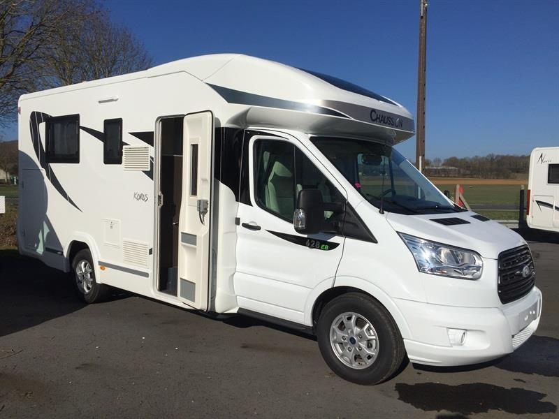 chausson korus 628 eb neuf de 2017 ford camping car en vente berck sur mer pas de calais. Black Bedroom Furniture Sets. Home Design Ideas