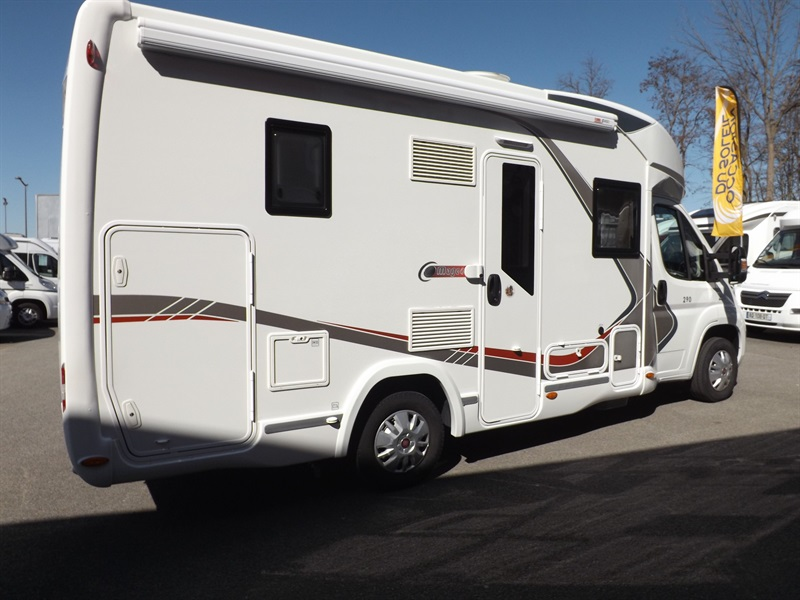 Challenger mageo 290 occasion de 2016 fiat camping car for Housse tyvek camping car