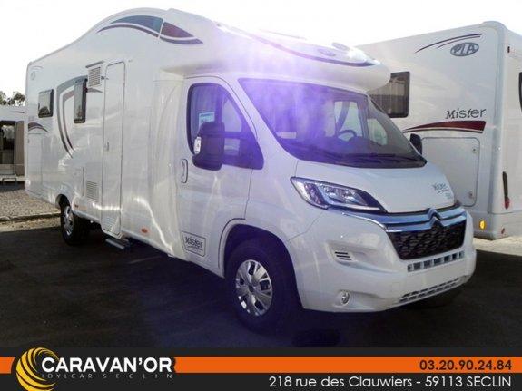 Neuf Pla Camper Mister 580 vendu par CARAVAN`OR 62