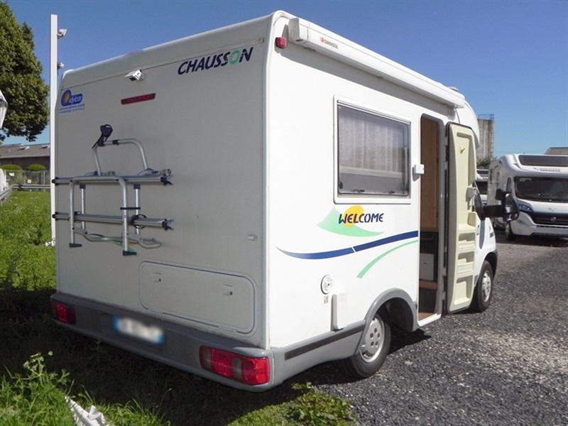 chausson welcome 50 occasion de 2005 fiat camping car en vente sailly labourse pas de. Black Bedroom Furniture Sets. Home Design Ideas