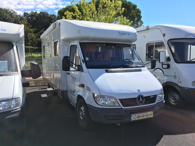 hymer tramp m occasion de 2004 mercedes camping car en vente peryuis alpes de haute. Black Bedroom Furniture Sets. Home Design Ideas