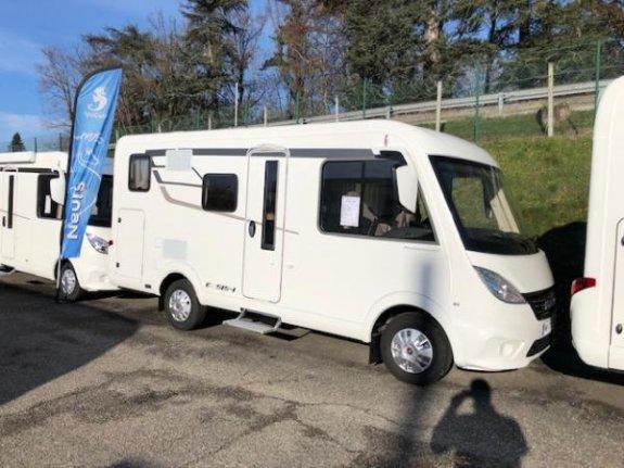 Neuf Hymer Exsis I 504 vendu par YPOCAMP BALZAC CAMPING CARS