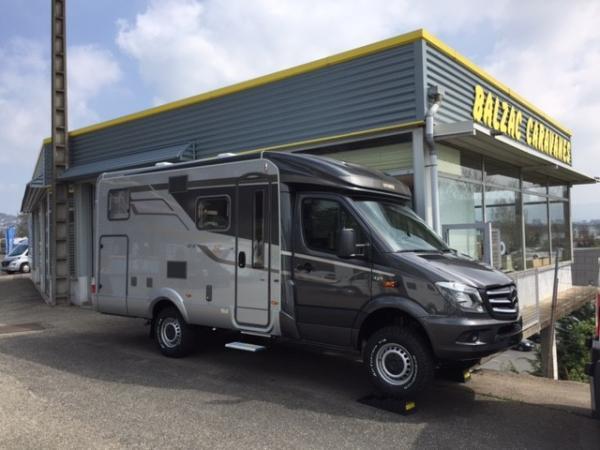 hymer ml6t 570 edition 60 neuf de 2018 mercedes camping car en vente l 39 etrat loire 42. Black Bedroom Furniture Sets. Home Design Ideas