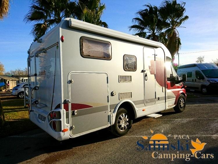 dethleffs globevan 75 occasion porteur ford transit 125 cv camping car vendre en var 83. Black Bedroom Furniture Sets. Home Design Ideas