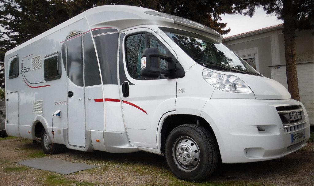eriba car 673 occasion porteur fiat 130cv camping car vendre en var 83 ref 82294. Black Bedroom Furniture Sets. Home Design Ideas