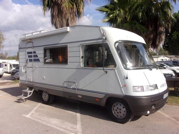 hymer   occasion de  fiat camping car en vente