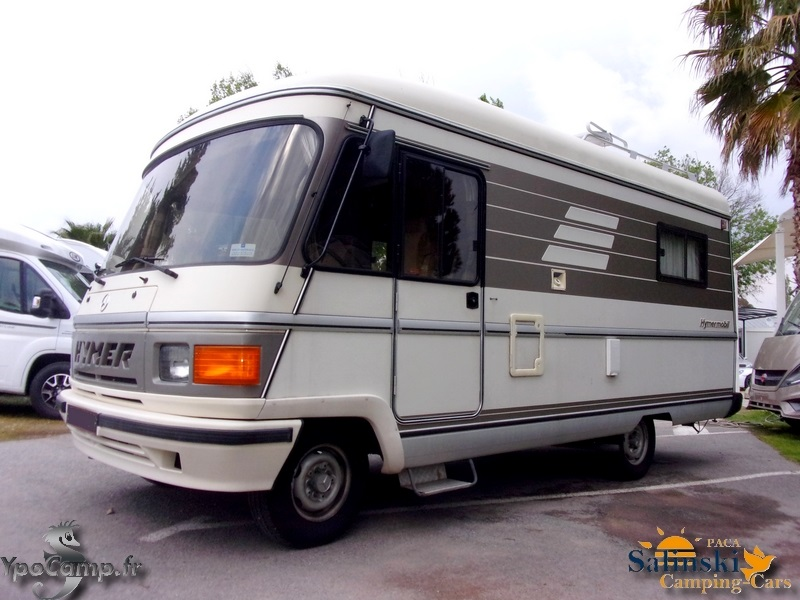 hymer s 550 occasion de 1988 mercedes camping car en vente roquebrune sur argens var 83. Black Bedroom Furniture Sets. Home Design Ideas