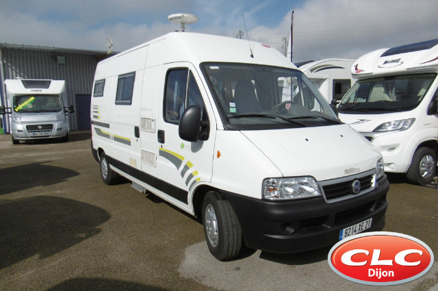 trigano eurocamp sylver occasion de 2006 fiat camping car en vente chenove cote d or 21. Black Bedroom Furniture Sets. Home Design Ideas