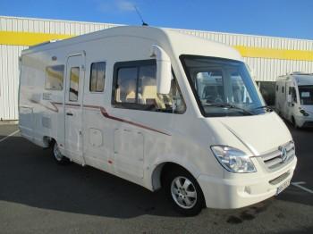 le voyageur lv6 occasion de 2009 mercedes camping car en vente soual tarn 81. Black Bedroom Furniture Sets. Home Design Ideas