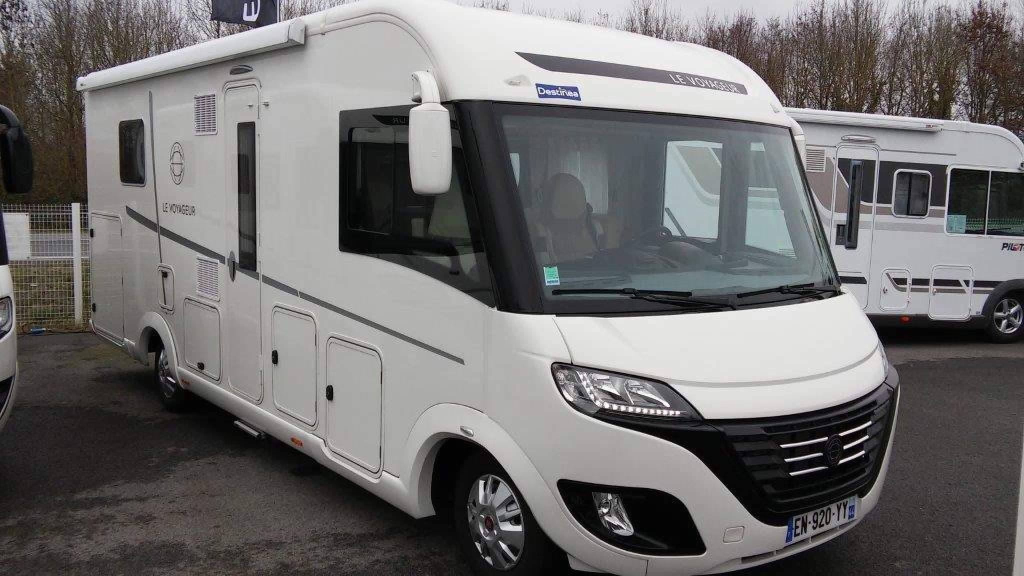 le voyageur lv 7 2 cf occasion de 2016 - fiat - camping car en vente  u00e0 les clouzeaux  vendee