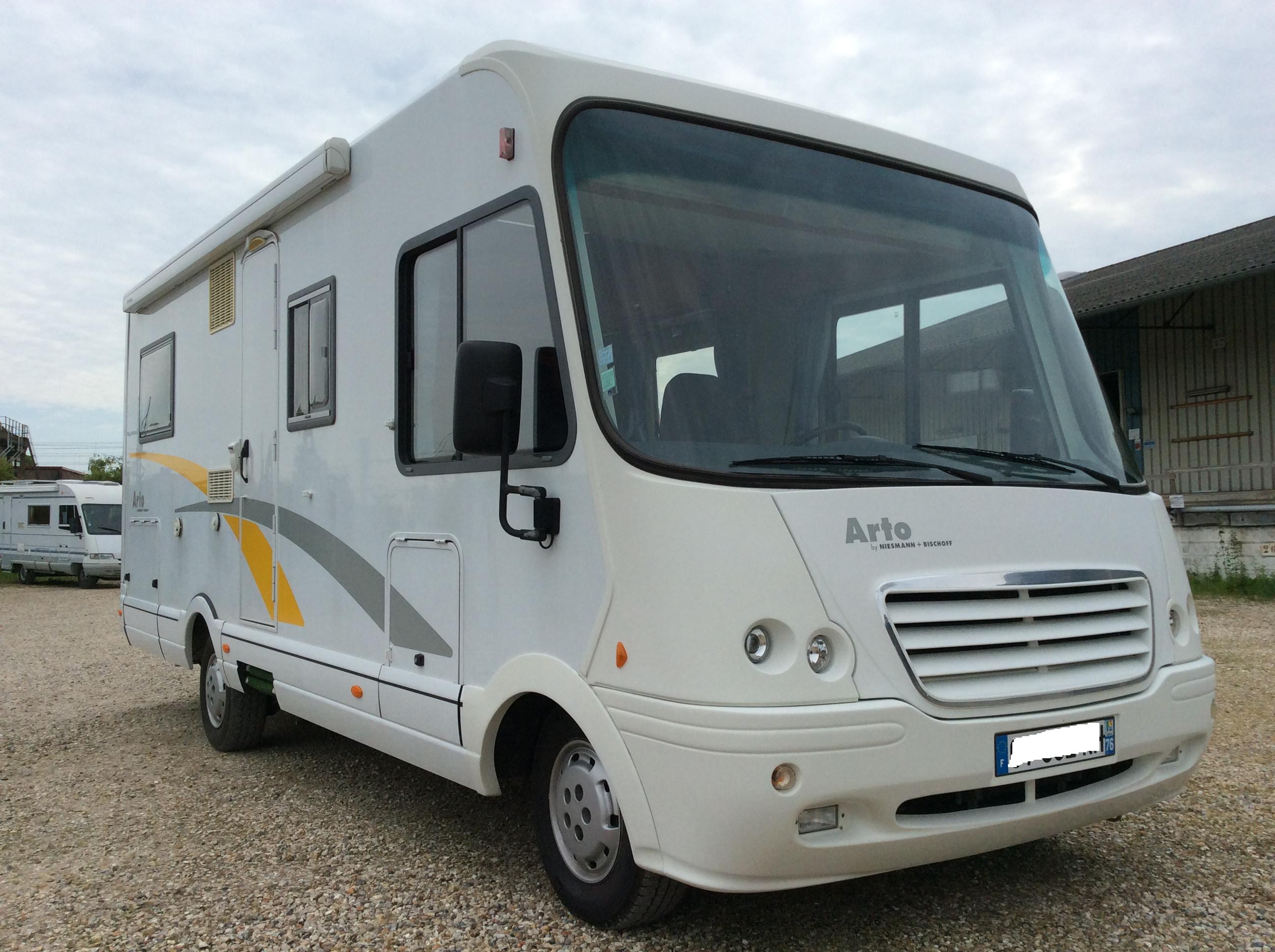 niesmann arto 69 p occasion de 2006 ducato camping car en vente aubevoye eure 27. Black Bedroom Furniture Sets. Home Design Ideas