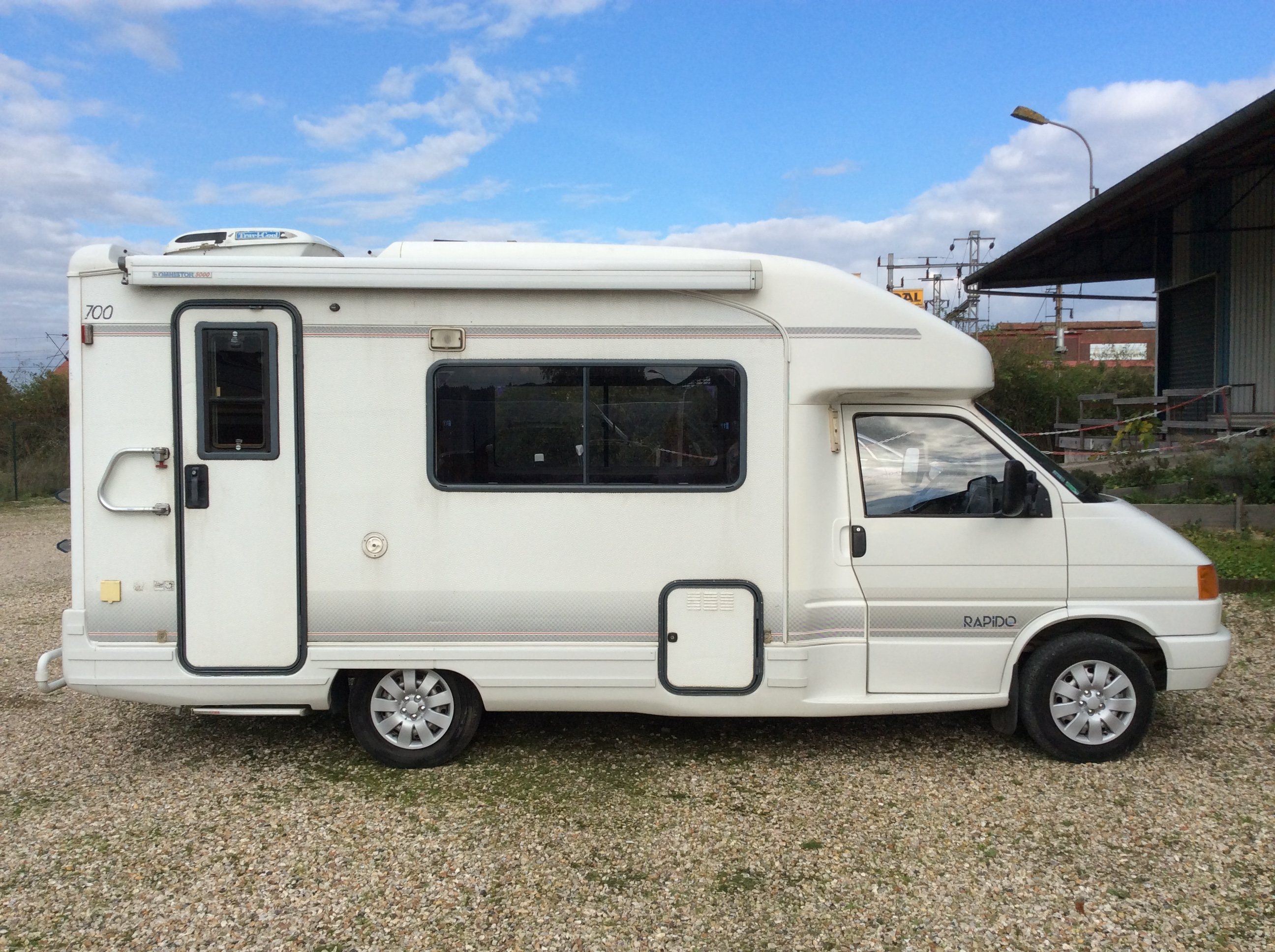 rapido le randonneur 700 t4 vw occasion de 1995 vw camping car en vente aubevoye eure 27. Black Bedroom Furniture Sets. Home Design Ideas