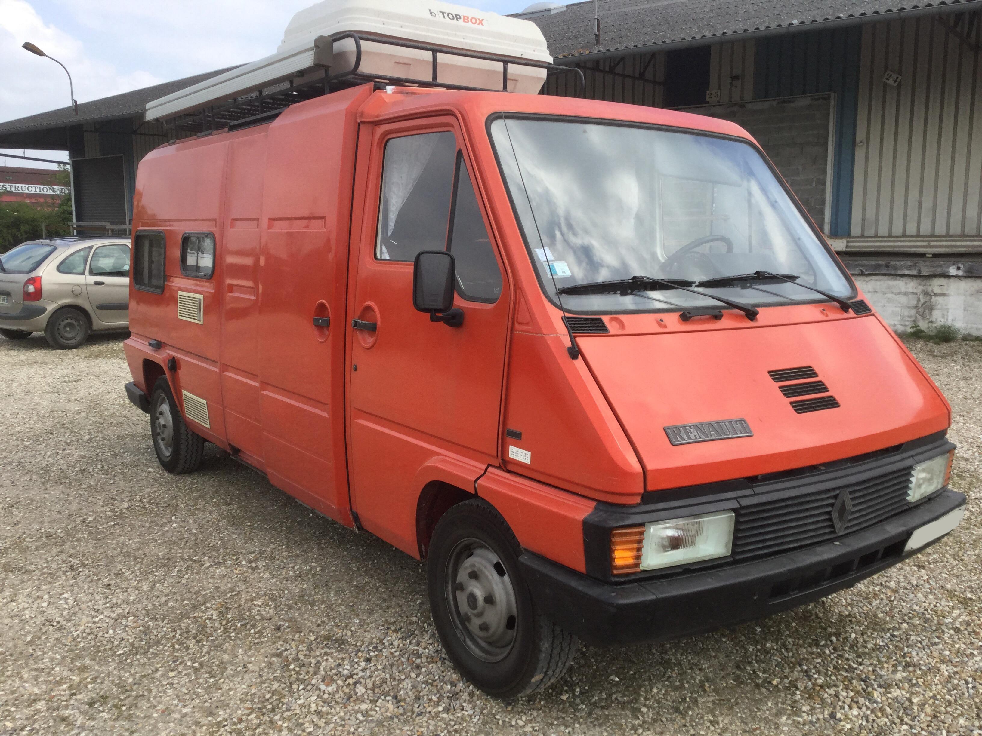 renault master occasion de 1988 renault camping car en vente aubevoye eure 27. Black Bedroom Furniture Sets. Home Design Ideas