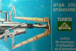 Stabilisateur STAB 230 TUNESI