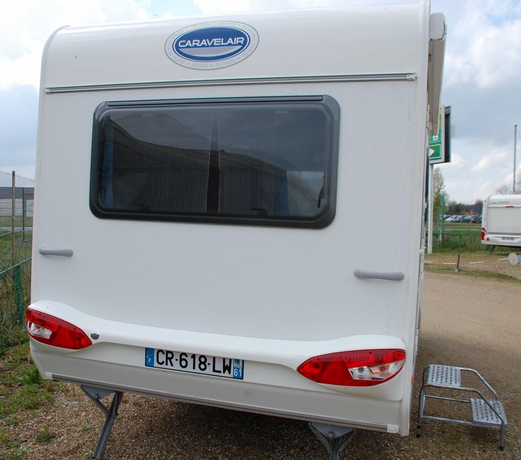 Caravelair antares luxe 380 occasion de 2013 caravane en for Camping car de luxe avec piscine