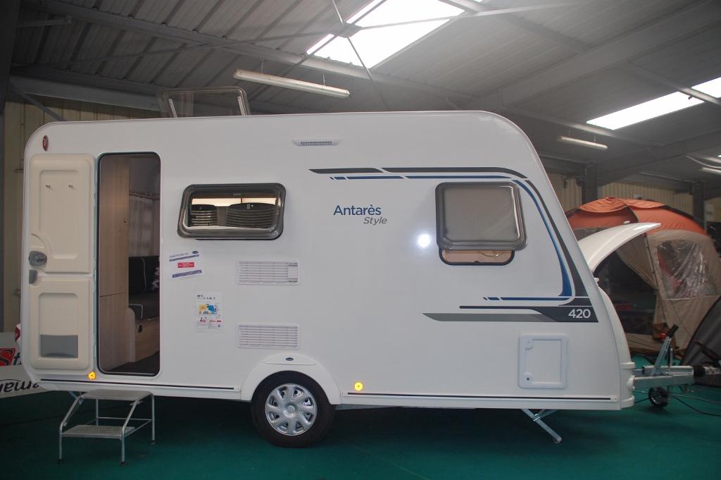 Caravelair antares style 420 neuf de 2018 caravane en for Salon de la caravane