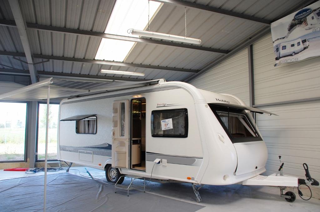 hobby prestige 560 occasion de 2013 caravane en vente la ferte bernard sarthe 72. Black Bedroom Furniture Sets. Home Design Ideas