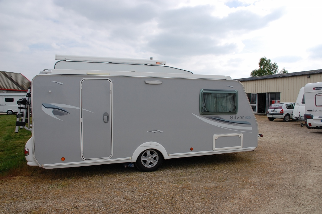 trigano silver 420 cp occasion caravane vendre en sarthe 72 ref 10674. Black Bedroom Furniture Sets. Home Design Ideas