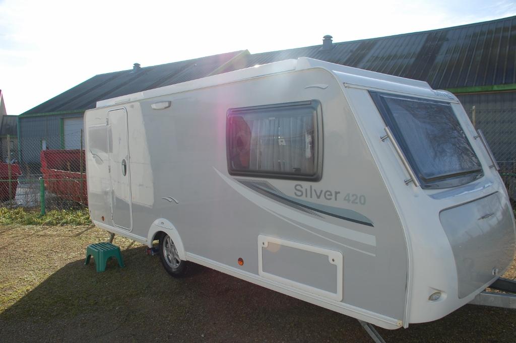 trigano silver 420 cp occasion de 2012 caravane en vente la ferte bernard sarthe 72. Black Bedroom Furniture Sets. Home Design Ideas