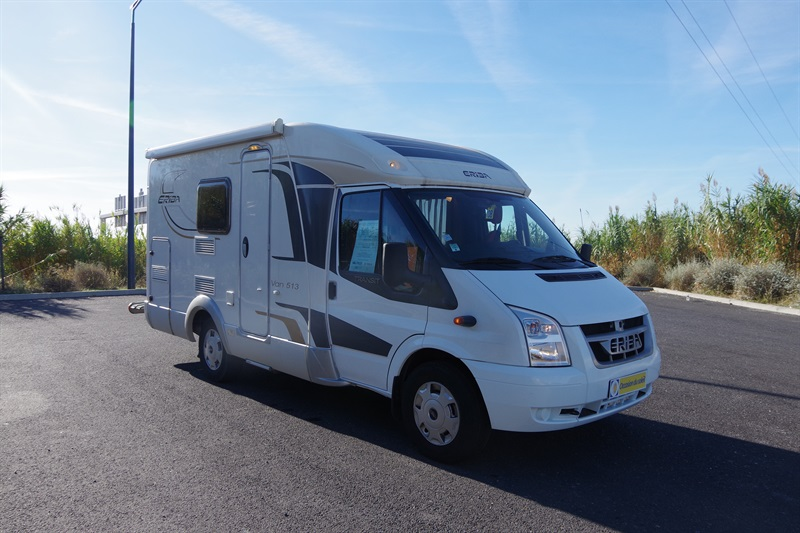 eriba van 513 occasion de 2012 ford camping car en. Black Bedroom Furniture Sets. Home Design Ideas