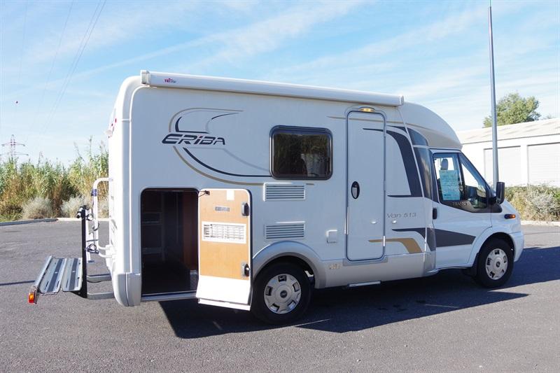 eriba van 513 occasion de 2012 ford camping car en vente villeneuve les b ziers herault 34. Black Bedroom Furniture Sets. Home Design Ideas