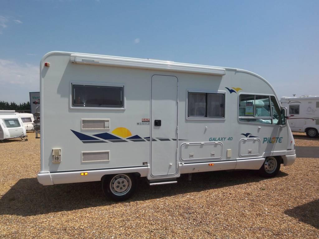 pilote galaxy 40 occasion de 2001 - ducato - camping car en vente  u00e0 mulsanne  sarthe