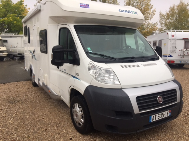 Chausson flash 26 occasion de 2010 fiat camping car en for Garage occasion tarn