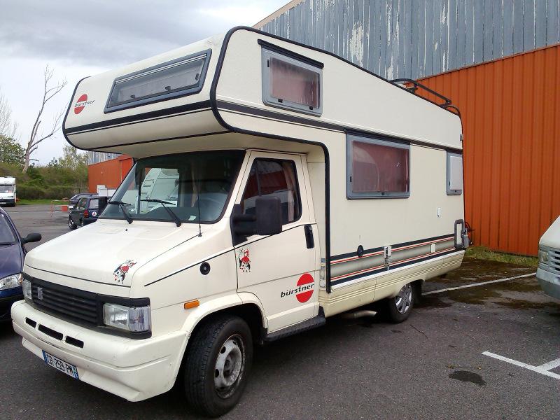 burstner c 25 occasion de 1991 citroen camping car en vente bruyres sur oise val d oise 95. Black Bedroom Furniture Sets. Home Design Ideas