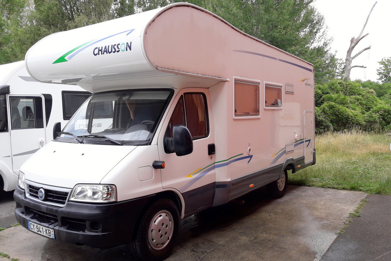 chausson welcome 17 occasion de 2006 fiat camping car en vente bruyres sur oise val d oise. Black Bedroom Furniture Sets. Home Design Ideas