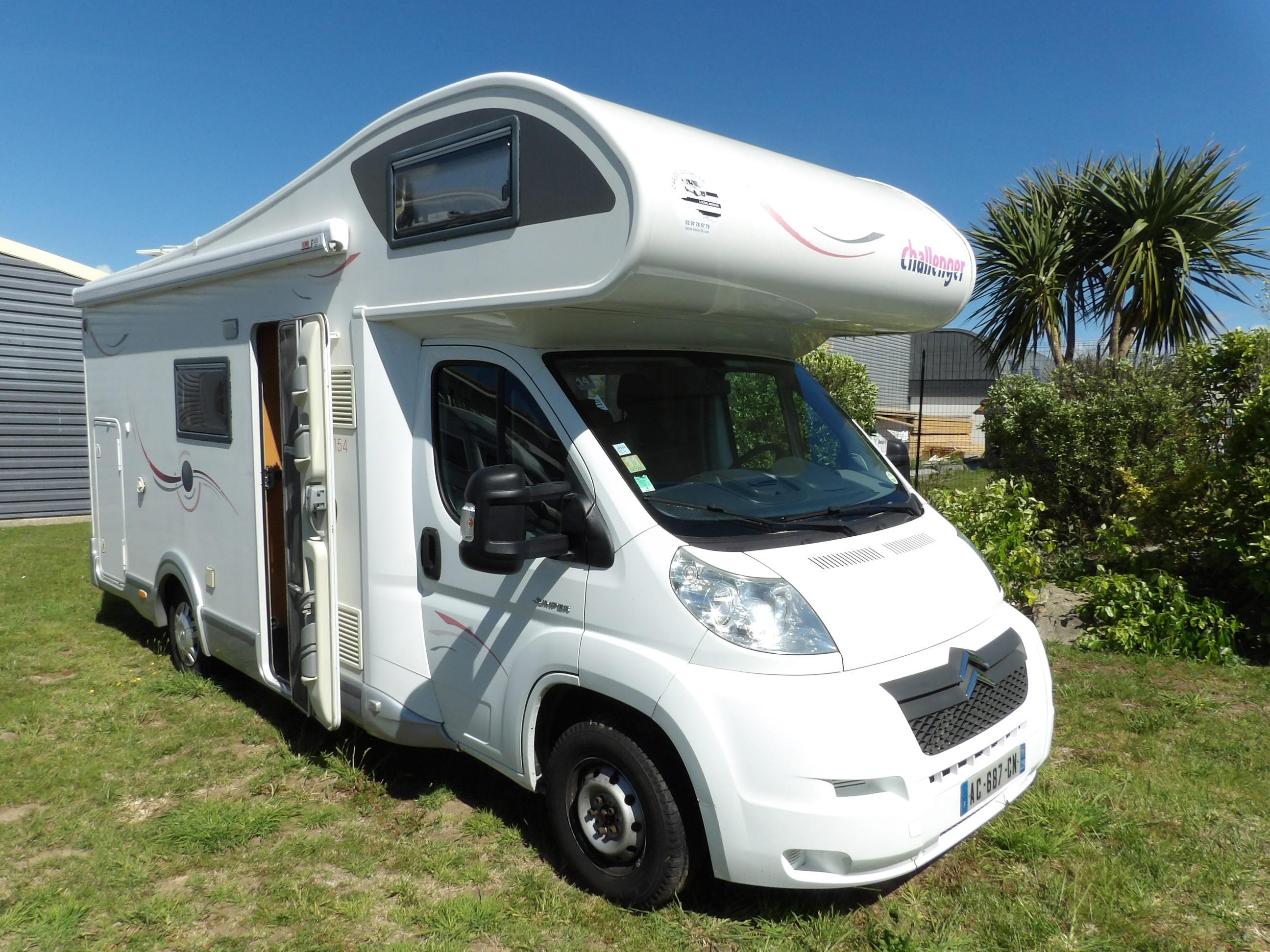 challenger mageo 154 occasion de 2009 citroen camping car en vente locoal mendon sortie 36. Black Bedroom Furniture Sets. Home Design Ideas