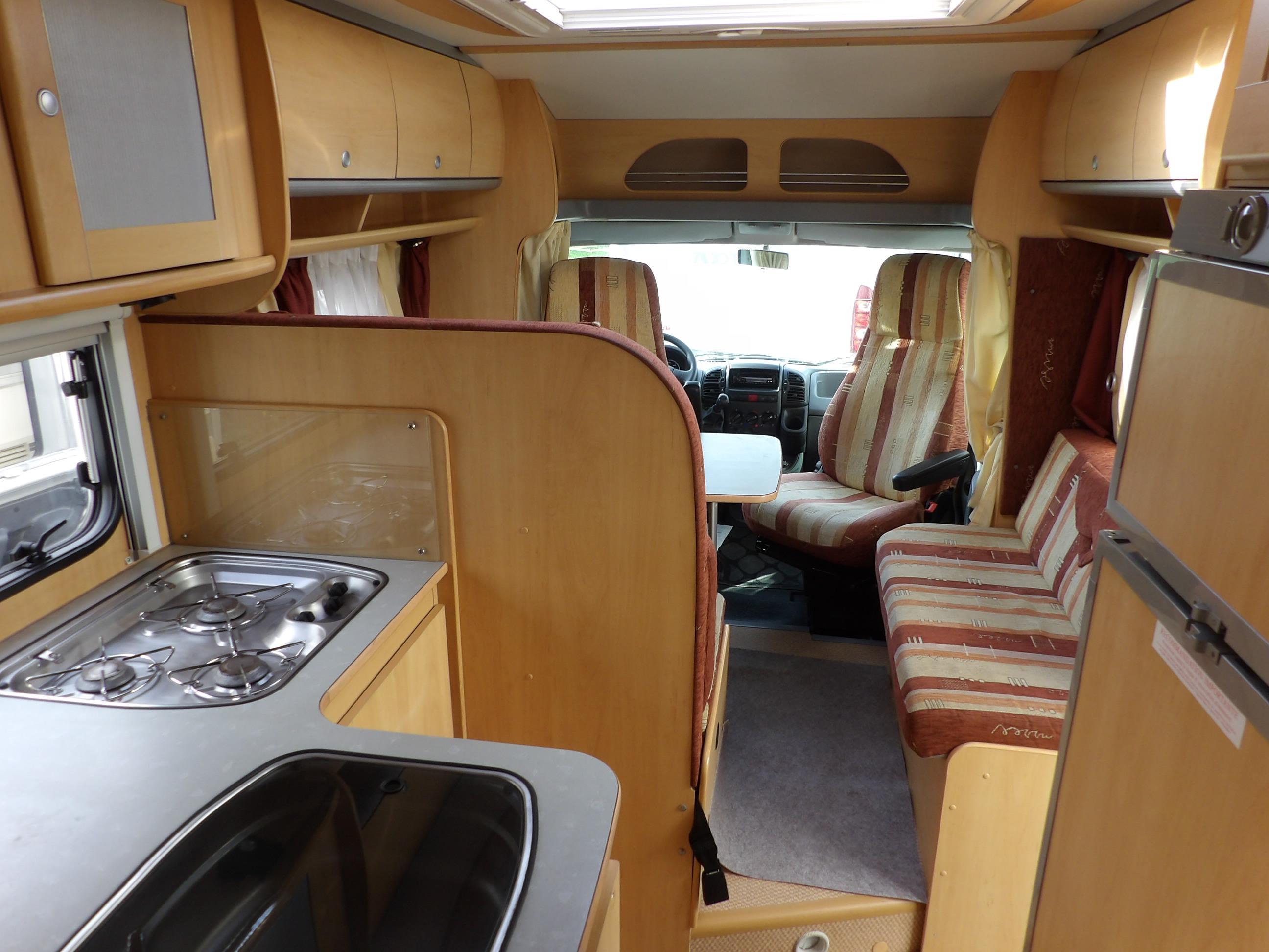 dethleffs advantage t 6501 occasion de 2005 fiat camping car en vente locoal mendon sortie. Black Bedroom Furniture Sets. Home Design Ideas