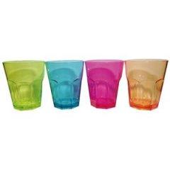 Divers lot de 4 verres à eau