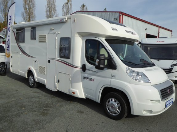 cote argus rapido serie 6 691 l 39 officiel du camping car. Black Bedroom Furniture Sets. Home Design Ideas