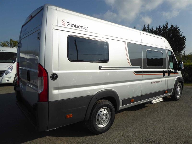 globecar campscout neuf de 2017 citroen camping car en vente dompi re sur yon vendee 85. Black Bedroom Furniture Sets. Home Design Ideas