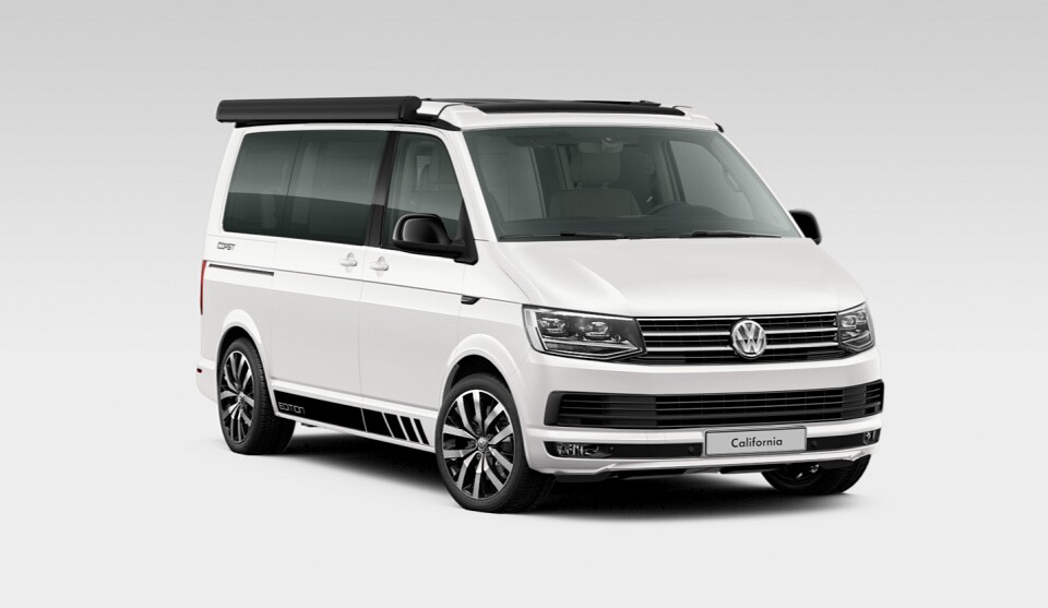 volkswagen california t6 coast edition occasion de 2017. Black Bedroom Furniture Sets. Home Design Ideas