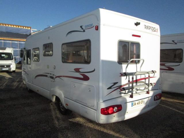 Rapido 986 M Bva Occasion De 2005 Mercedes Camping Car