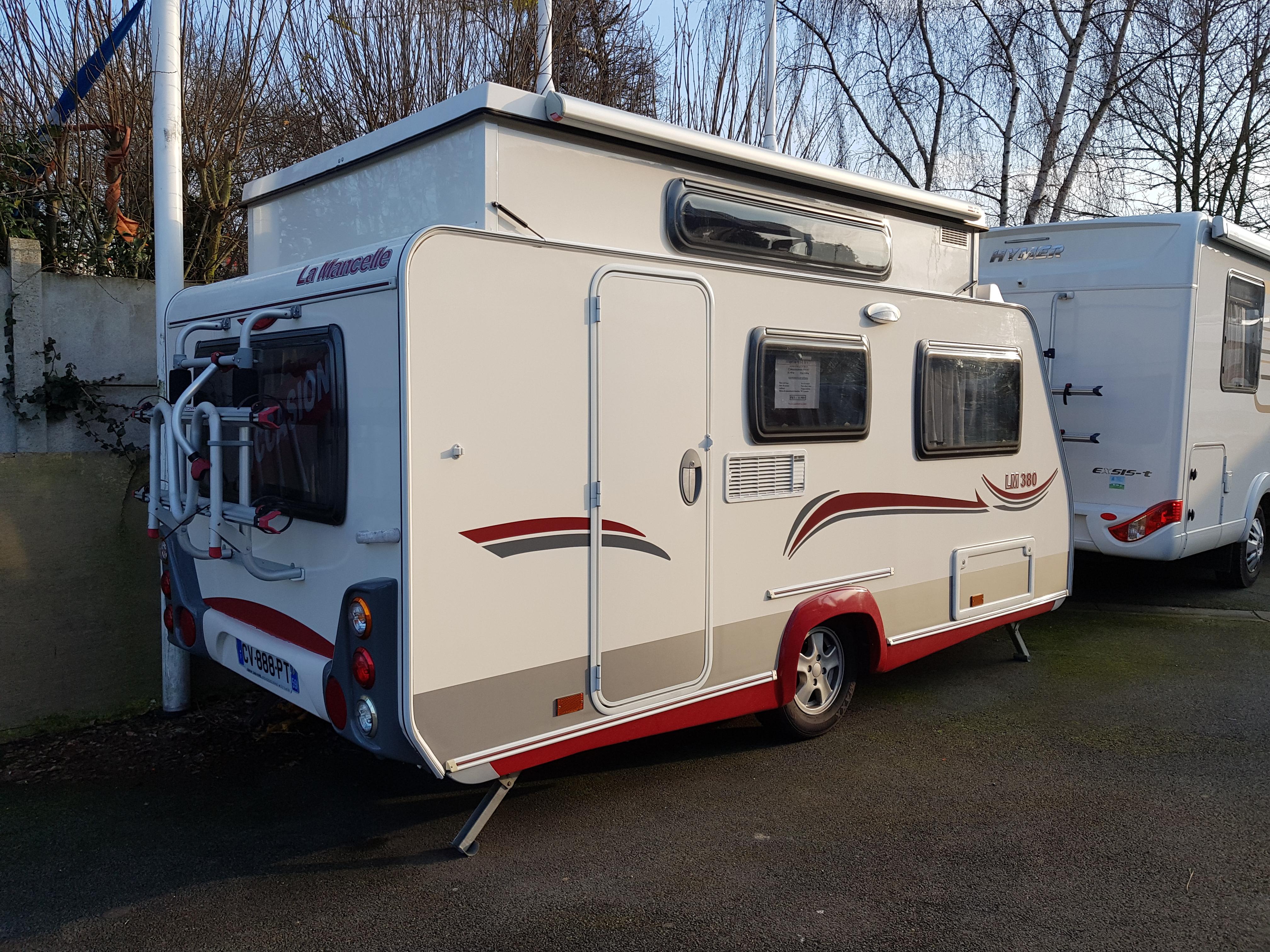la mancelle lm 380 cp occasion de 2013 caravane en vente cuinchy pas de calais 62. Black Bedroom Furniture Sets. Home Design Ideas