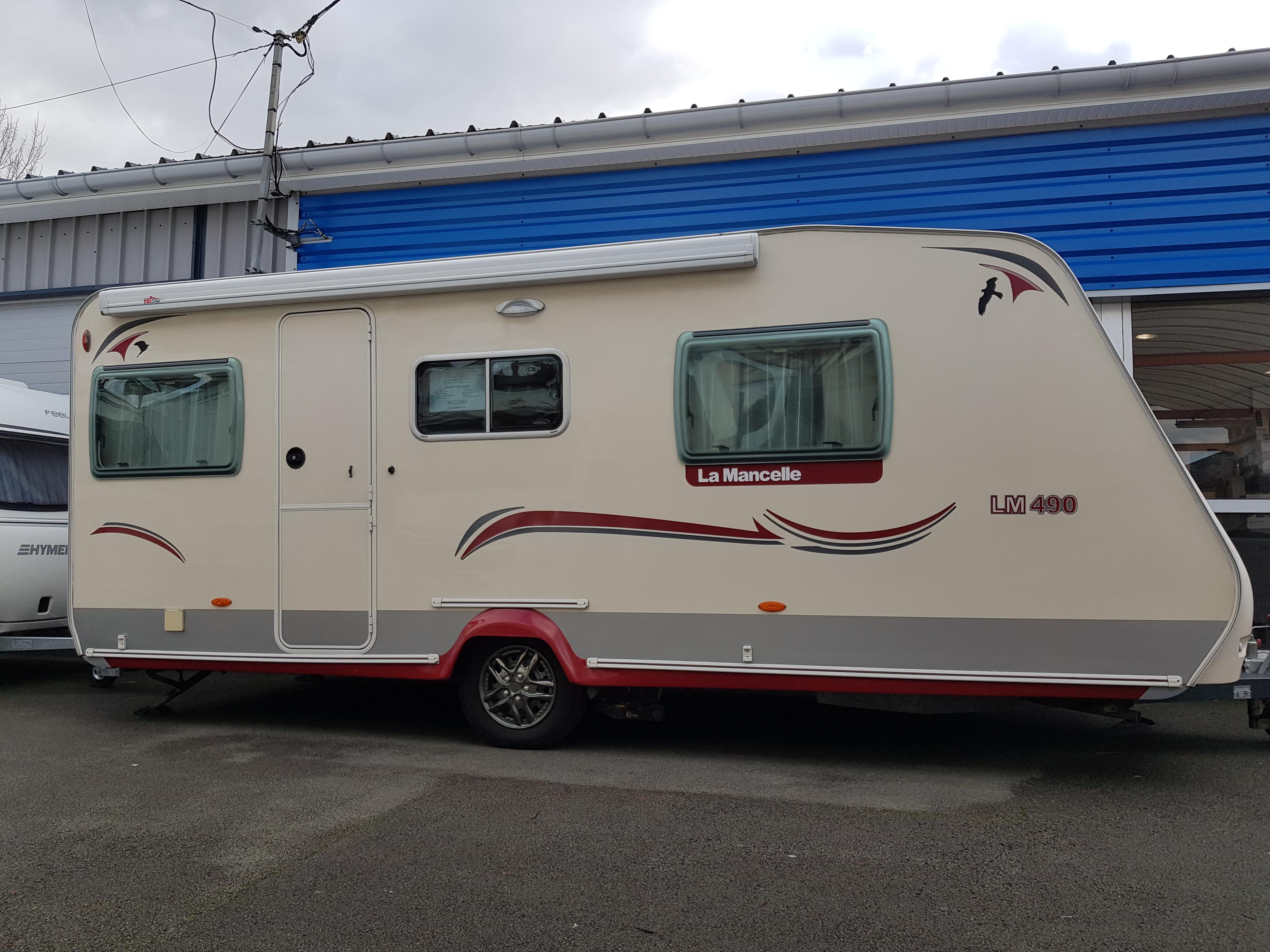 la mancelle lm 490 sa occasion de 2011 caravane en vente cuinchy pas de calais 62. Black Bedroom Furniture Sets. Home Design Ideas